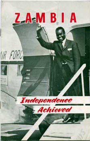 History of Zambia - A book published by the government upon independence.