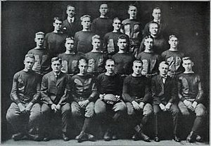 1915 Illinois Fighting Illini football team - Image: 1915 Illinois Fighting Illini football team