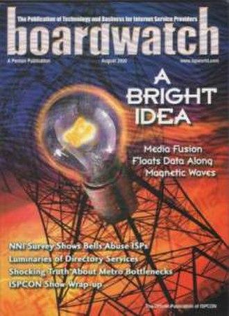 Boardwatch - Boardwatch Magazine's August 2000 issue
