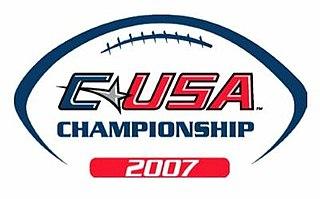 2007 Conference USA Football Championship Game annual NCAA football game