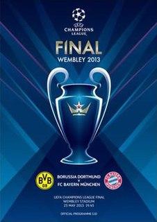final game of the 2012/2013 UEFA Champions League season