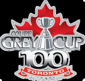 100th Grey Cup - Image: 465 grey cup primary 2012