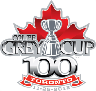 100th Grey Cup - Image: 465 grey cup primary 2012