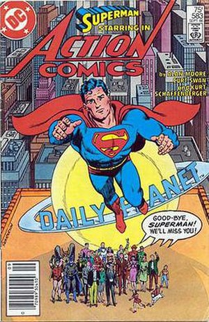 Superman: Whatever Happened to the Man of Tomorrow? - Image: Actioncomics 583