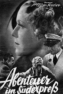 <i>Adventure on the Southern Express</i> 1934 film
