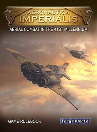 Aeronautica Imperialis - Cover of the Aeronautica Imperialis rulebook