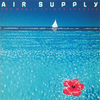 The Whole Thing's Started - Image: Air Supply 1977 Japan