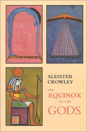 The Equinox of the Gods (Crowley) - Cover art of 1991 edition