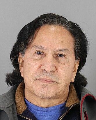 Alejandro Toledo - Image: Alejandro Toledo arrested