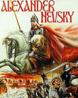 <i>Alexander Nevsky</i> (film) 1938 film by Sergei Eisenstein