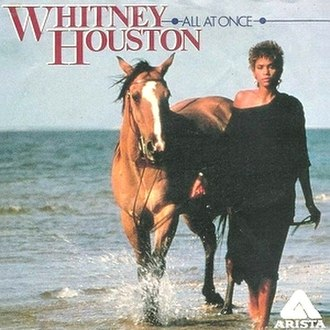 All at Once (Whitney Houston song) - Image: Allat Once Houston