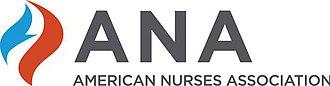 American Nurses Association - Image: American Nurses Association logo