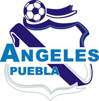 Ángeles de Puebla -  Badge used in 1999–2001
