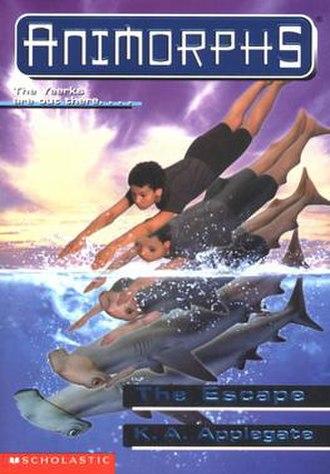 The Escape (Applegate novel) - Marco morphing into a hammerhead shark.