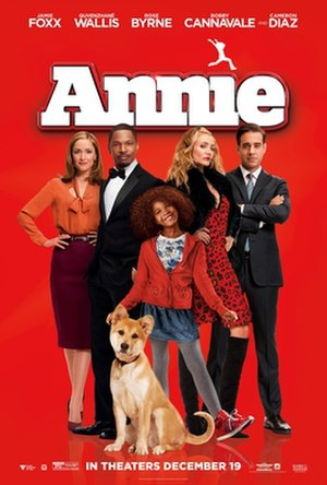 Annie (2014 film) - Theatrical release poster
