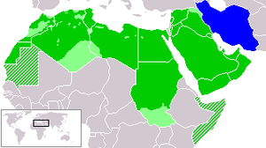 Arab world and Iran
