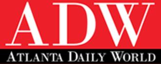 Atlanta Daily World - Image: Atlanta Daily World logo