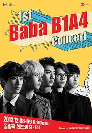 BABA B1A4 - Image: BABA B1A4 Poster