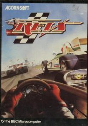 Revs (video game) - Cover art for the original Acornsoft release of Revs