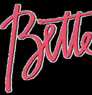 Bette (TV series) - Image: Bette (Bette Midler TV show logo)