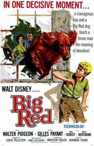 Big Red (film) - Image: Big Red 1962
