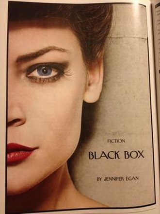 Black Box (short story) - First page of print publication in The New Yorker.