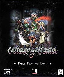 Blaze & Blade Eternal Quest Windows box art front.jpg