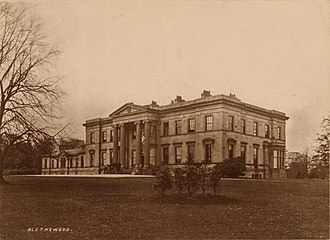 James Gillespie Graham - Graham's Blythswood House, Glasgow. Home of the Lords Blythswood it was demolished in 1935.