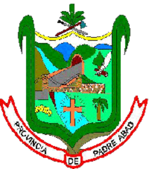 Padre Abad Province - Image: COA Padre Abad Province in Ucayali Region