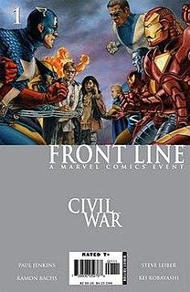 <i>Civil War: Front Line</i>