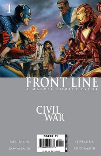 Civil War: Front Line - Cover of the 1st issue