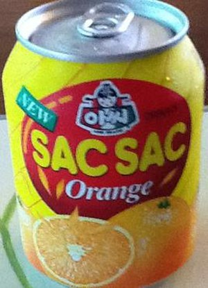 Lotte Chilsung - A can of Sac Sac