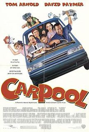 Carpool (1996 film) - Theatrical release poster