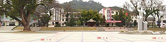 Changting County - Changting No.1 Middle School, Town of Tingzhou