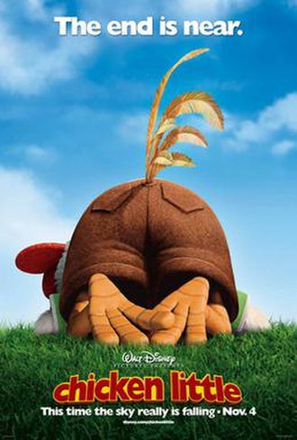 Chicken Little (2005 film) - Theatrical release poster