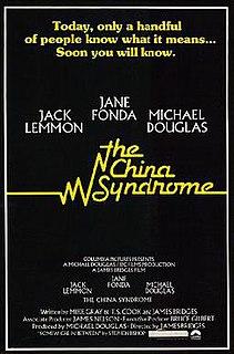 <i>The China Syndrome</i> 1979 US drama neo-noir thriller film by James Bridges