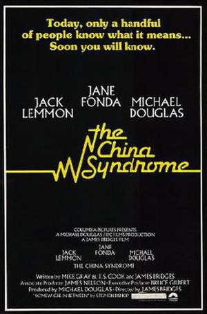 The China Syndrome - Promotional poster
