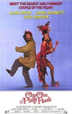 Chu Chu and the Philly Flash - Theatrical release poster