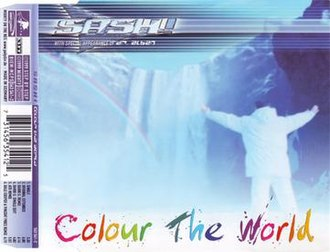Colour the World - Image: Color the world single cover