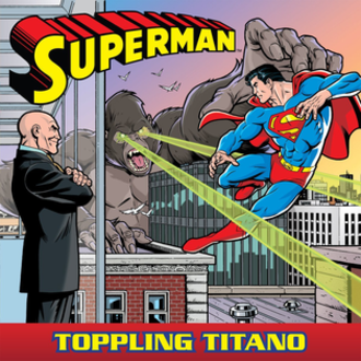 Brett Breeding - Image: Cover Art Superman, Toppling Titano