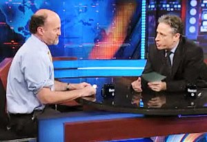 Jon Stewart's 2009 criticism of CNBC - Cramer and Stewart meet on The Daily Show