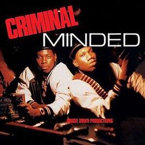 Criminal Minded - Image: Criminal Minded Album Cover