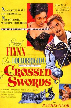 Crossed Swords (1954 film) - 1954 Theatrical Poster