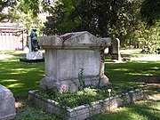 Davy's grave, Plot 208, Plainpalais Cemetery, Rue des Rois, Geneva.