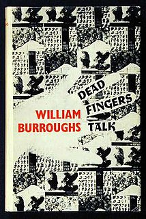 <i>Dead Fingers Talk</i> novel by William S. Burroughs
