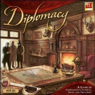 Diplomacy (game) - Image: Diplomacy box cover