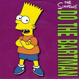 Do the Bartman - Image: Do the Bartman The Simpsons European commercial artwork