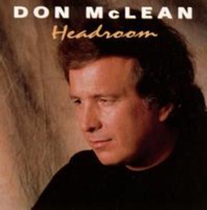 Headroom (Don McLean album) - Image: Don Mc Lean Headroom Coverart