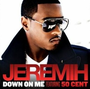 Down on Me (Jeremih song) - Image: Down On Me Cover