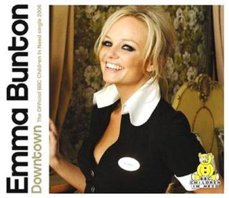 Downtown (Petula Clark song) - Image: Downtown Emma Bunton Cover